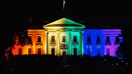 White House celebrates gay marriage